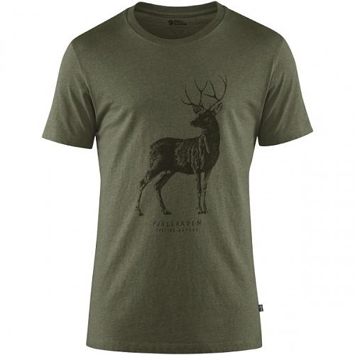 피엘라벤 디어 프린트 반팔 티셔츠 Deer Print T-Shirt M (87223)