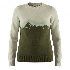 피엘라벤 우먼 그린란드 리울 뷰 스웨터 Greenland Re-Wool View Sweater W (89746)