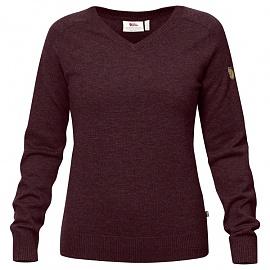 피엘라벤 우먼 솜란드 브이넥 스웨터 Sormland V-Neck Sweater W (90177)