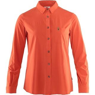 피엘라벤 우먼 오빅 라이트 긴팔 셔츠 Ovik Lite Shirt LS W (89980)